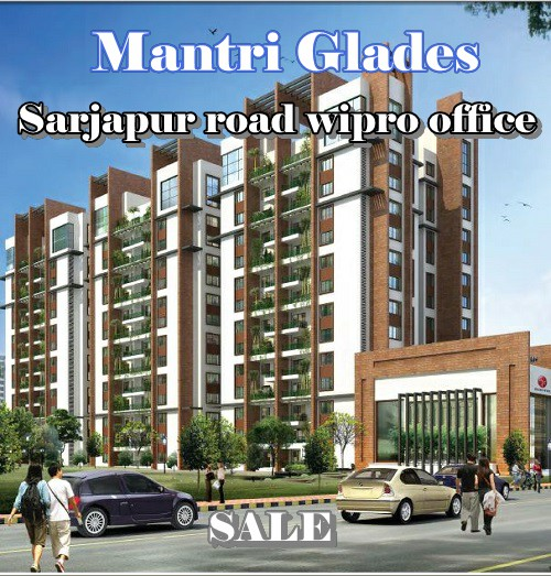 #Readytooccupy #3bHK #flat #forsale at #Wipro #corporateoffice gate #sarjapurroad #Mantri glades Bangalore